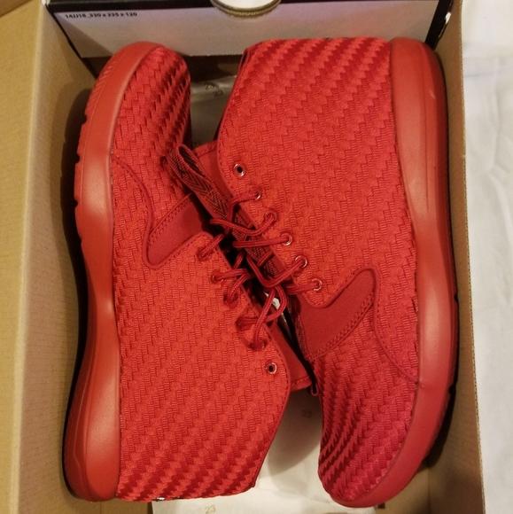 Nike Air Jordan Eclipse Chukka Red Mens
